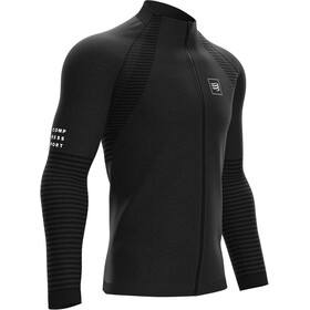 Compressport Seamless Sudadera con Cremallera, black